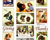 Traditional Thanksgiving Images Digital Collage Sheet Download GreatMusings No.244