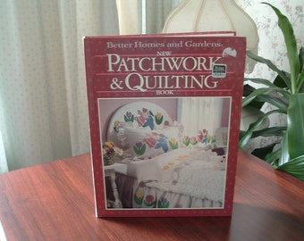 Vintage better home and gardens book New Patchwork and Quilting