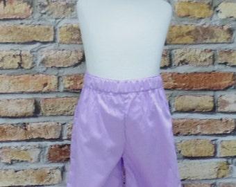Lilac  Ruffle Pant, Girl Ruffle Pant, Little Girl Pant, Toddler Pant, Purple Ruffle Pant, Fall Pant, Winter Pant