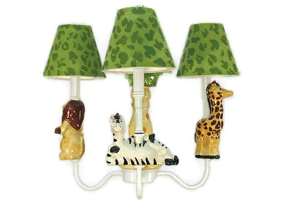 lighting safari friends chandelier jungle theme animal nursery. Black Bedroom Furniture Sets. Home Design Ideas