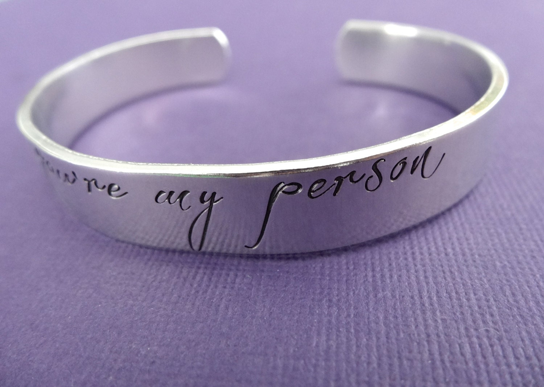you re my person bracelet sted custom bracelet
