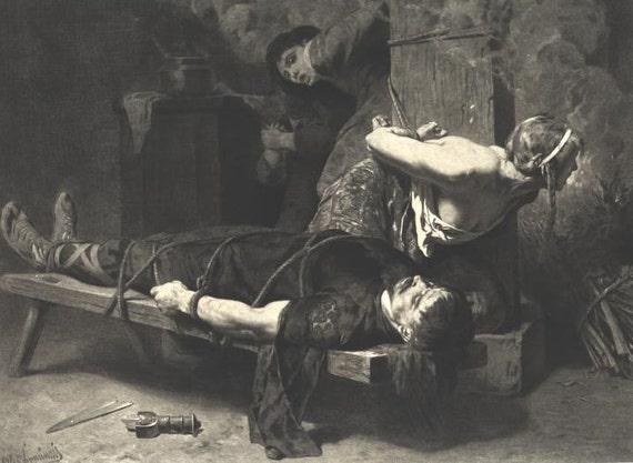 CHRAMN femme BLONDE mort Torture chambre nue française Vintage
