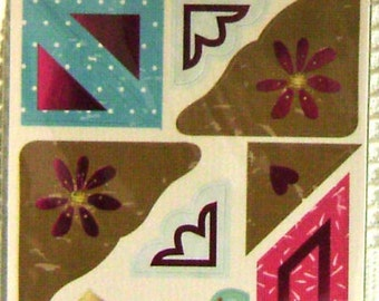 Scrapbook Sticker Heidi Grace Daisy Dear Corner Cardstock stickers - kitsnbitscraps