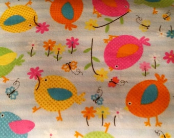 PLUMP BIRDS flannel lounge pants/pajama pants children's sizes 0-3 to 16.  Contact me for adult sizes to 3x