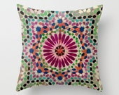 Decorative pillow cover - Morocco Cushion cover - Modern pillow cover - African pillow - Colorful Pillow - Contemporary bedding
