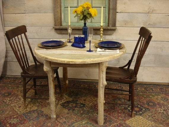 Driftwood Dining Room Table 38 Round X 29H By