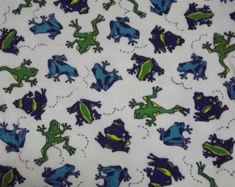Organic Cotton Winged Prefold Poison Dart Frogs
