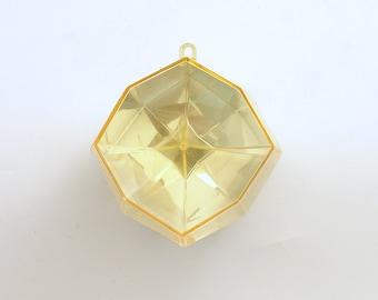 Vintage Christmas Ornament Mid Century Eames Era Geometric MCM
