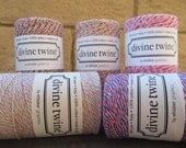 ON SALE  Divine Twine Mixed Colors  Full Spool Your Choice of Color. Paper Crafting. Gift Wrapping. Crafting.