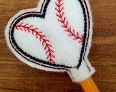 Baseball Pencil Topper Vday