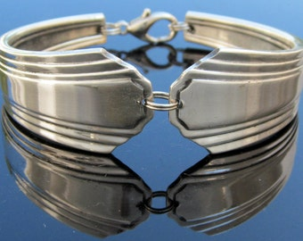 Spoon Bracelet (All Sizes) Paris Pattern Art Deco