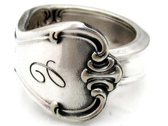 Spoon Ring Size 5 Signature With C Monogram