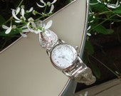 Sterling Silver Spoon Watch - Vintage Spoons with letter G Monogram