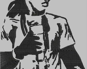 Lil Wayne Digitized Portrait Embroidery Design