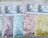 5 Ounces Sampler Pack Spring Colors Mica Vintage Style Snow Flakes Crafts