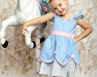 CINDERELLA dress blue and pink Princess dress from Lover Dovers handmade costume Practical princess dress