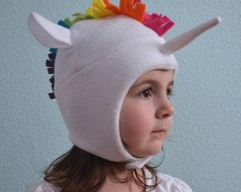 The Unicorn Hat , Sizes: newborn through adult