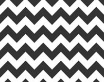 Riley Blake Chevron Fabric - Black