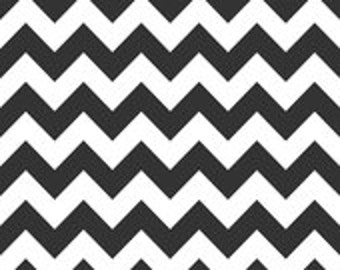 Riley Blake Chevron Fabric - Black