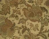 Kravet Woven Earth Acorns Floral Jacobean Designer Fabric Sample