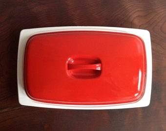 Vintage Finel Enamel Roasting Pan.