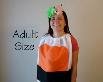 Adult Sushi Costume Halloween Costume Teen Group Costume Couples Costume Shrimp Sushi
