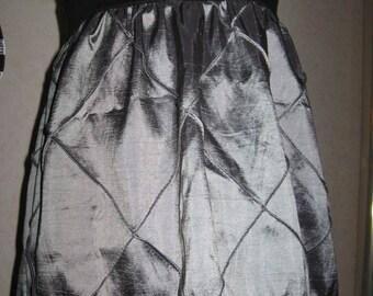 Sequoia-NEW Goth Baby Girls Black,Grey Taffeta Lace Dress Headband set,Rock,Punk,Gift