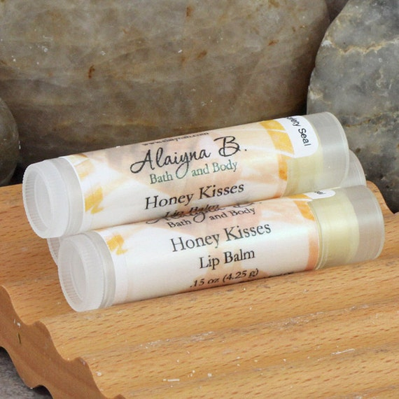 how to make honey flavored lip balm
