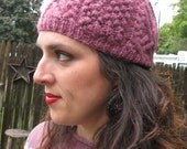 Wooly Cabled Cap - Child to Adult