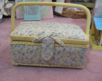 Vintage sweet sewing box