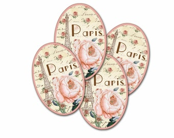 Gift Tag Pale Pink Tag,Paris Rose, Extra Thick, Parisian Pink Rose, Gift Tag, Paris Pink, Cottage Chic, Soft Pale Pink