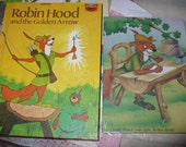 Robin Hood Little Golden Book Weekly Planner 2015 and Journal Set - Vintage Altered LIttle Golden Book