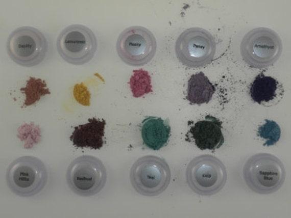 Eye Shadow Sample Set -  Hszel Eyes - Trial Size Gift Set