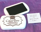 BROWN/CHOCOLATE Color Box by Stephanie Barnard Dye Ink Pad