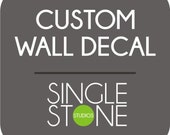 Custom Trade Show Wall Decal For Veronica