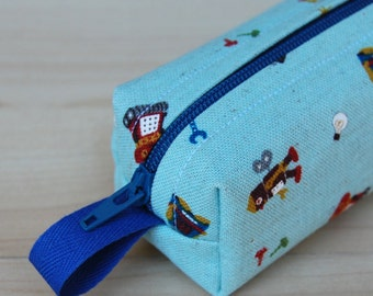 Toy Bots Skinny Mini Roll (pencil or makeup case)