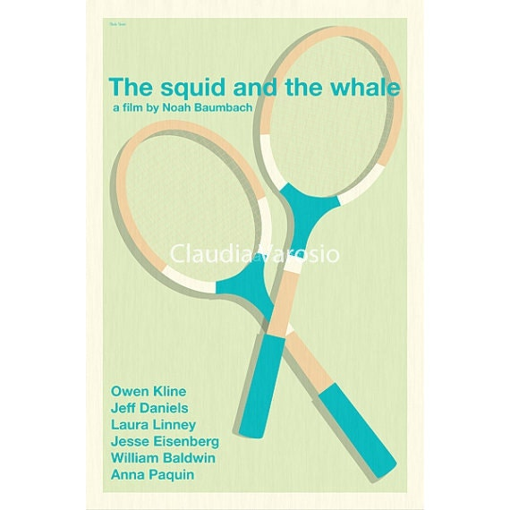 The Squid and the Whale 12x18 inches movie poster