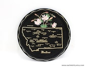 1950s Montana State Serving Tray