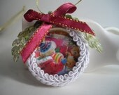 Christmas Tree Ornament Stocking Stuffer Handmade Kris Kringle Gift Idea Free Gift Box And Note Card Included