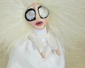 Louise - A Ghost Peg Doll Art Doll