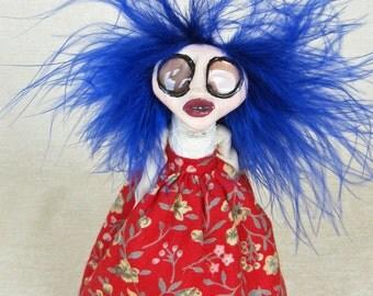 Maggie - Peg Doll Art Doll