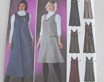 Simplicity Dress Pattern 5917  Pullover Jumper Pattern in Two Lengths / SIZE xxs xs small