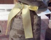 USMC Desert or Woodland MARPAT Wine Bag, Made by Approved USMC Hobbyist, License 11651