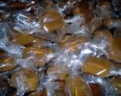 8 Ounces Hand Crafted Sea Salt Honey Caramels