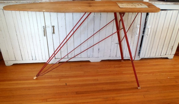 Vintage 1940s Maid Of Honor Industrial Ironing Board Sears And