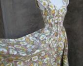 Vintage Romantic Floral Dress