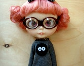 Handmade Dust Bunny outfit set for Blythe doll by Knitmad