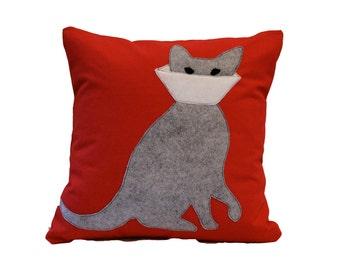 Cat Pillow / Cone Cat Pillow / Cone Cat