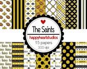 Digital Scrapbook  The Saints- INSTANT DOWNLOAD