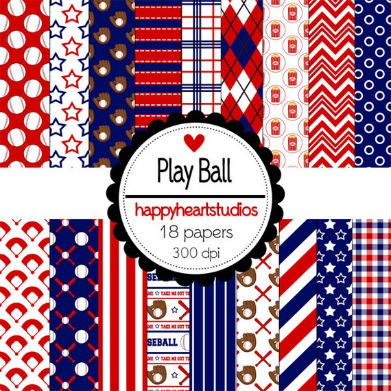 Digital Scrapbooking PlayBall